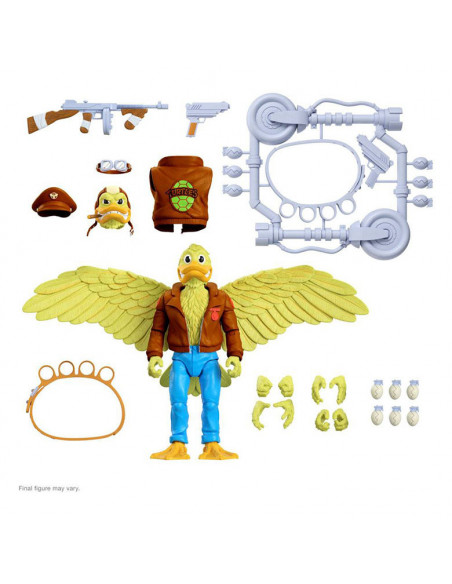 es::Tortugas Ninja Figura Ultimates Ace Duck 18 cm