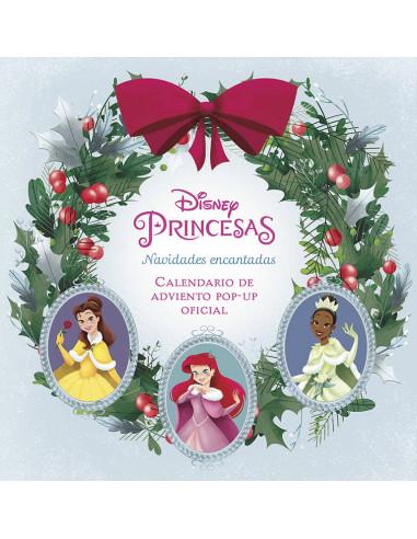 es::Disney Princesas: Navidad encantada. El calendario de adviento pop-up oficial 2021