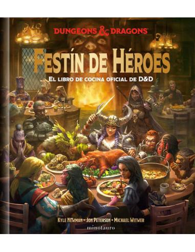 es::Festín de Héroes - El libro de cocina oficial de D&D