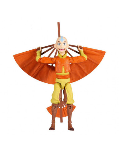 es::Avatar: la leyenda de Aang Figura Figura Aang with Glider 13 cm-0