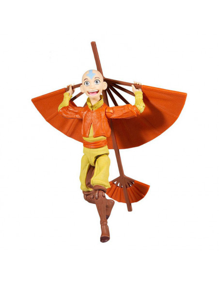 es::Avatar: la leyenda de Aang Figura Figura Aang with Glider 13 cm-1