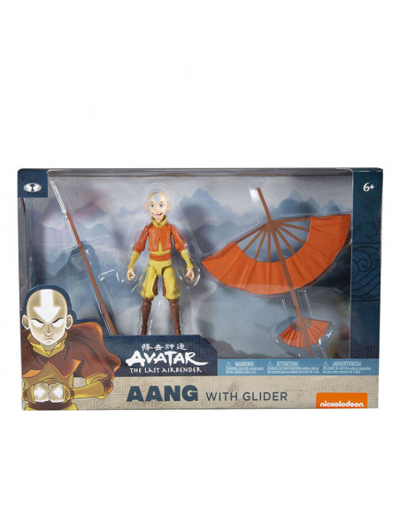 es::Avatar: la leyenda de Aang Figura Figura Aang with Glider 13 cm-3