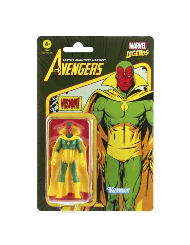 es::Marvel Legends Retro Figura Visión 9.5 cm