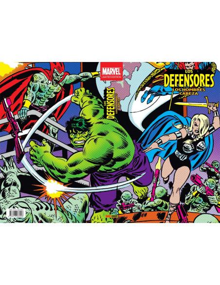 es::Los Defensores: Los Hombres Cabeza Marvel Limited Edition
