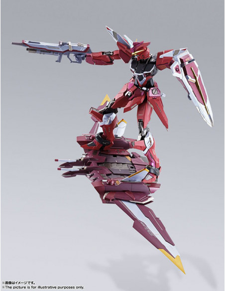 es::Mobile Suit Gundam sedd metal build: Justice Gundam Figura  18 cm