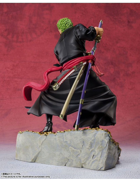 es::One Piece Estatua FiguartsZERO - Roronoa Zoro Daikaizoku Hyakkei 19 cm