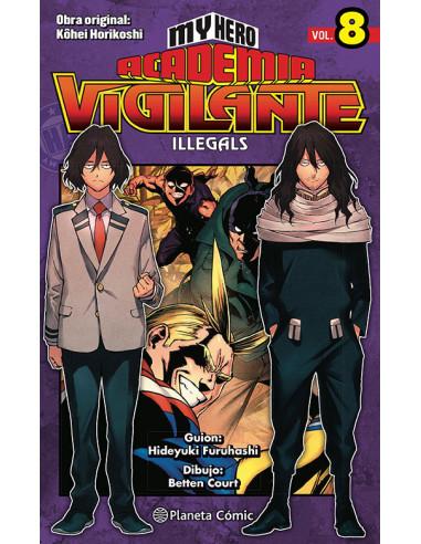 es::My Hero Academia Vigilante Illegals 08