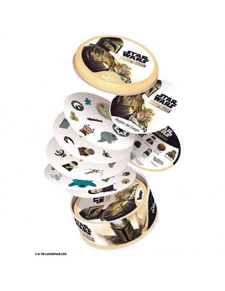 es::Dobble Star Wars: The Mandarlorian - Juego de mesa