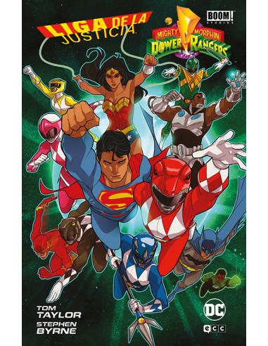 es::Liga de la Justicia / Power Rangers