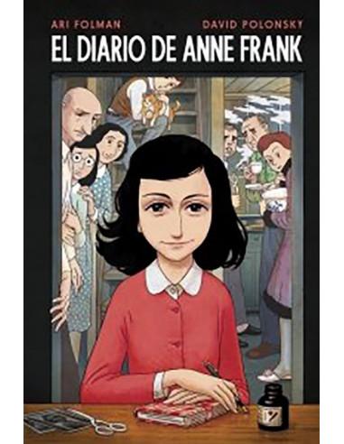 es::El Diario de Anne Frank Nueva edición Novela gráfica.