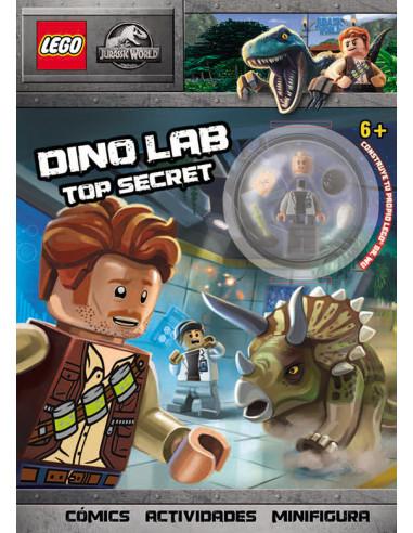 es::Jurassic World LEGO. Dino Lab Top Secret