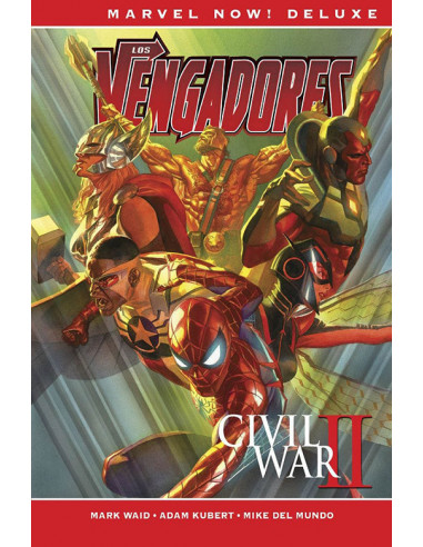 es::Los Vengadores de Mark Waid 02. Civil War II Cómic Marvel Now! Deluxe