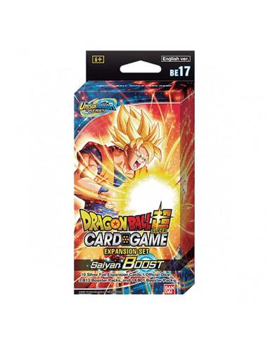 es::Dragon Ball Super Card Game Expansion Set BE17 Saiyan Boost