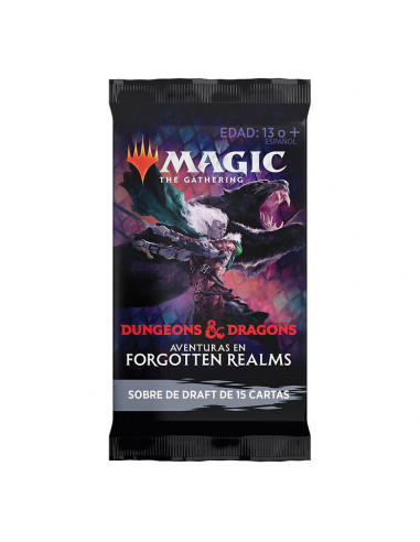 es::Magic Aventuras en Forgotten Realms 1 sobre de Draft en castellano