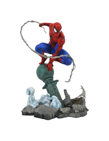 es::Marvel Comic Gallery Estatua Spider-Man Lamppost 25 cm