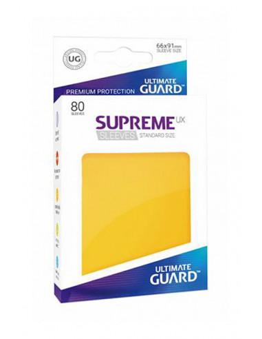 es::Fundas Supreme UX Color Amarillo 80 unidades