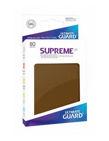 es::Fundas Supreme UX Color Marrón 80 unidades
