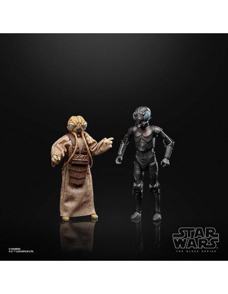 es::Star Wars Black Series Pack de 2 Figuras Bounty Hunters 40th Anniversary Edition 15 cm