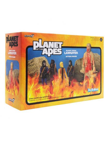 es::La Guerra del Planeta de los Simios Figura ReAction Lawgiver Bloody 14 cm
