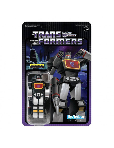 es::Transformers Figura ReAction Soundblaster 10 cm