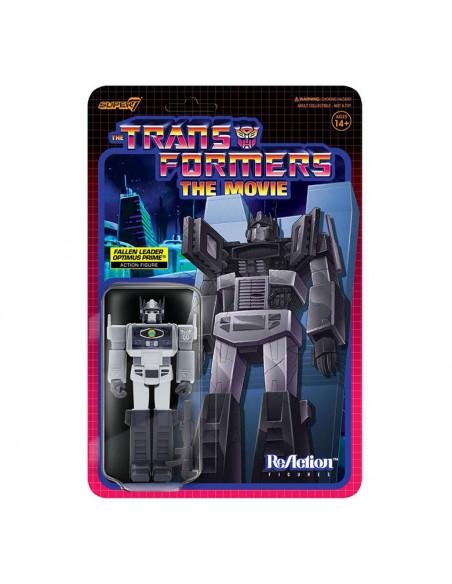 es::Transformers Figura ReAction Wave 4 Fallen Leader Optimus Prime 10 cm
