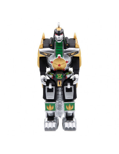 es::Mighty Morphin Power Rangers Figura ReAction Dragonzord 15 cm