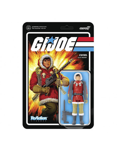 es::G.I. Joe Figura ReAction Kwinn 10 cm