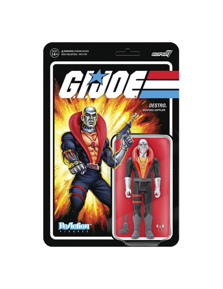 es::G.I. Joe Figura ReAction Destro 10 cm