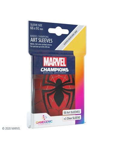 es::Marvel Champions Sleeves Spider-Man