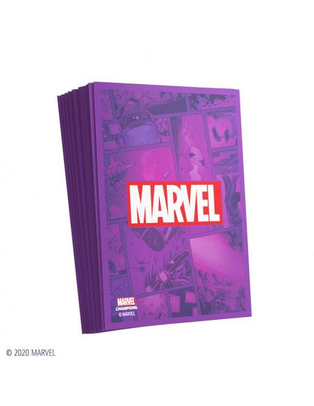 es::Marvel Champions Sleeves Marvel Purple