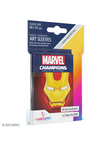 es::Marvel Champions Sleeves Iron Man