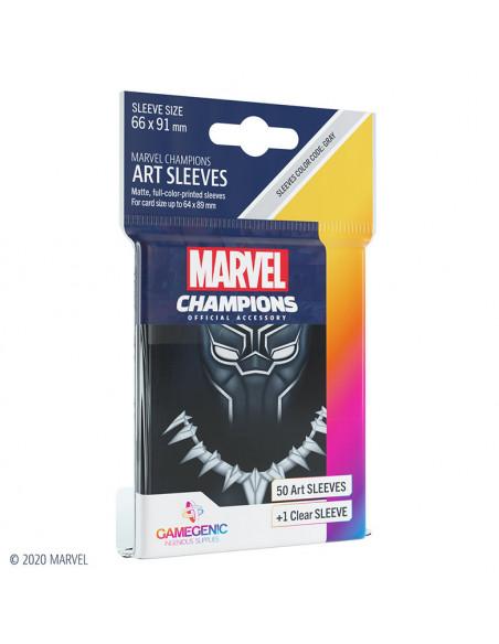 es::Marvel Champions Sleeves Black Panther