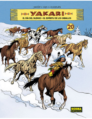 es::Yakari Vol. 20. El día del espíritu de los caballos