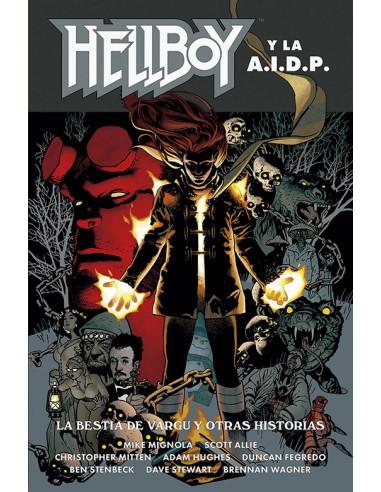 es::Hellboy Ed. Cartoné 25. Hellboy y la AIDP: La Bestia de Vargu y otras historias