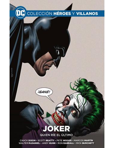 es::Colección Héroes y villanos vol. 23 - Joker: Quien ríe el último