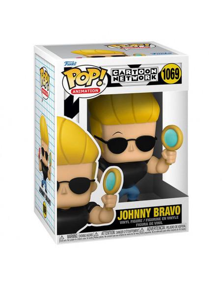 es::Johnny Bravo Funko POP! Johnny with Mirror and Comb 9 cm