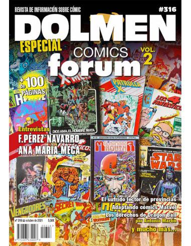 es::Dolmen 016: Especial Cómics Forum 2ª parte