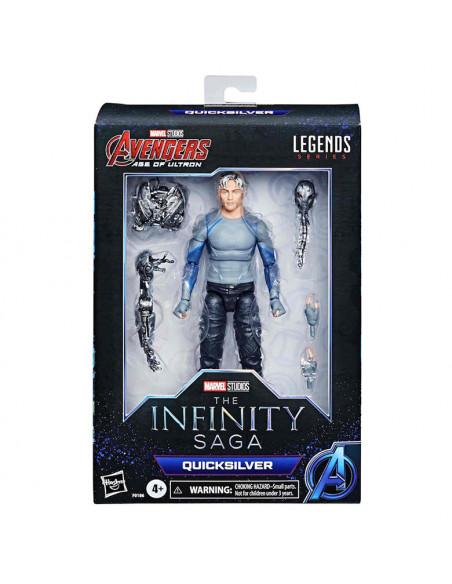es::Marvel Legends The Infinity Saga Figura Quicksilver 19 cm