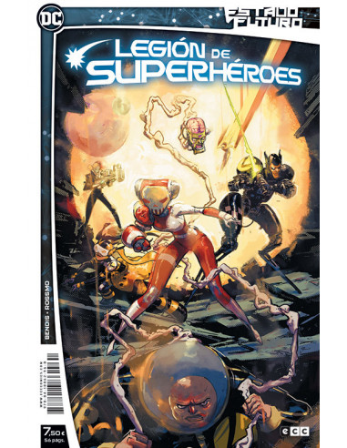 es::Estado futuro: Legión de superhéroes