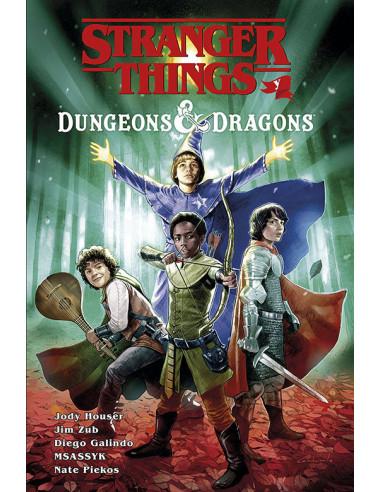 es::Stranger Things y Dungeons & Dragons