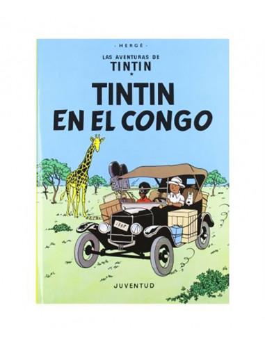 es::Tintín 02. Tintín en el Congo Rústica
