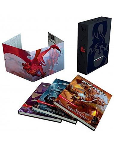 es::D&D 5ª - Set de regalo: Reglamentos básicos. Dungeons & Dragons