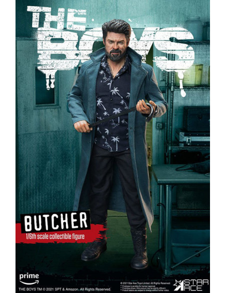 es::The Boys My Favourite Movie Figura 1/6 Billy Butcher Deluxe Version 30 cm