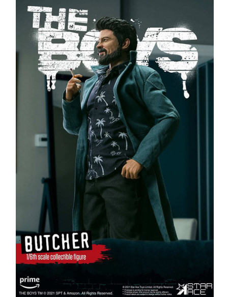 es::The Boys My Favourite Movie Action Figure 1/6 Billy Butcher Normal Version 30 cm