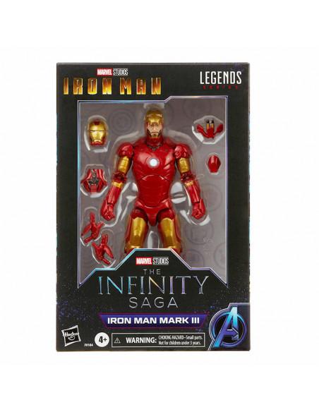 es::Marvel Legends The Infinity Saga Figura Iron Man Mark III 15 cm