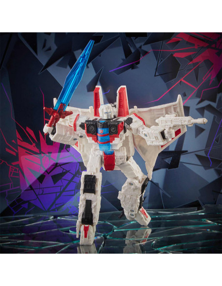 es::Starscream figura 18 cm Transformers shatered glass