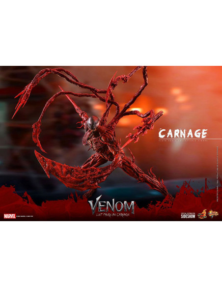 es::Venom: Habrá Matanza Figura Movie Masterpiece 1/6 Carnage Hot Toys 43 cm