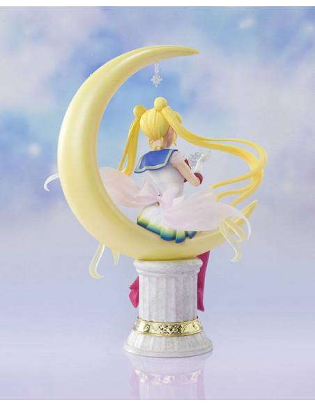 es::Sailor Moon Eternal Estatua FiguartsZERO Chouette Super Sailor Moon Bright Moon 19 cm