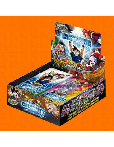 es::Dragon Ball Super Card Game: Cross Spirits Caja de 24 sobres