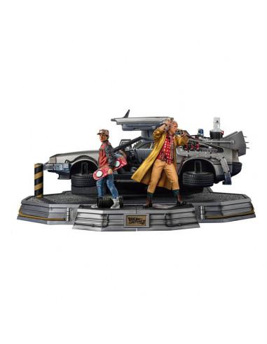 es::Regreso al Futuro II Estatuas 1/10 Art Scale Full Set Deluxe 58 cm